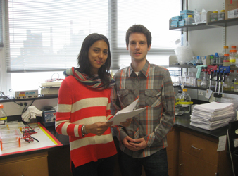 Photo of Priya D. A. Issuree and Thorsten Maretzky, PhD