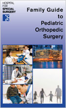 Image: Family Guide to Orthopedic Surgery brochure cover