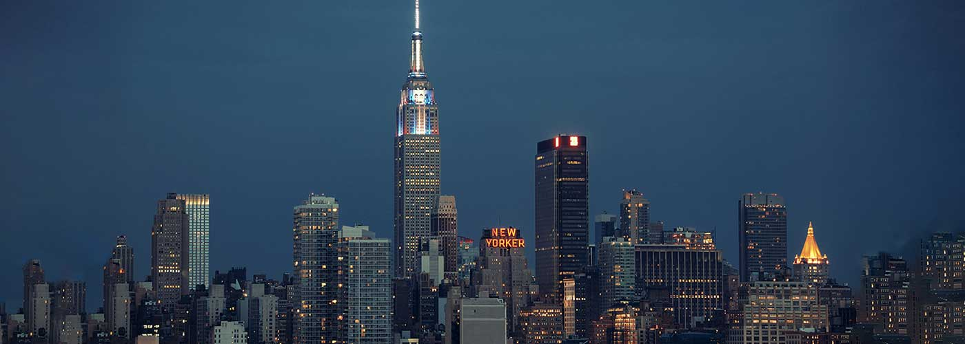Banner image of the New York City skyline.