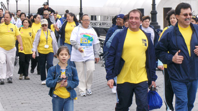 The Annual Arthritis Walk drew men and women, young and old. Arthritis can impact anyone.