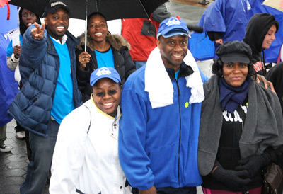 Families and friends gathered together to fight Arthritis at the 2009 Annual Arthritis Walk.