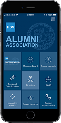Screenshot of Alumni App