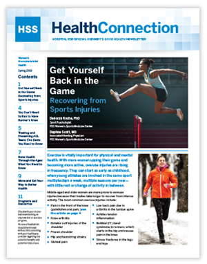 HealthConnection Winter 2018 Cover
