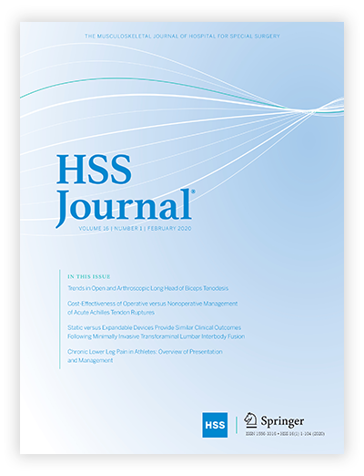 Image - HSS Journal Cover
