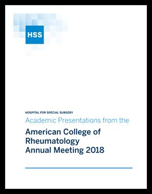 2018 ACR Presentations   HSS