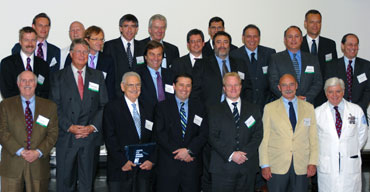 Group photo from the inaugural meeting of the International Specialty Orthopaedic Collaboratorium