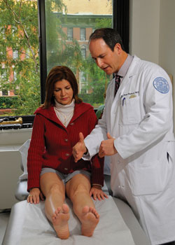 Nancy Florentino with Dr. Robert Rozbruch