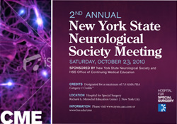 2nd Annual New York State Neurological Society Meeting cover