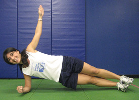 ACL Injury Prevention: Core Strength - Side Planks