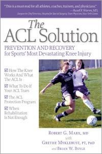 The ACL Solution book cover