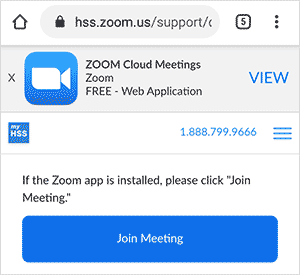 zoom join meeting button