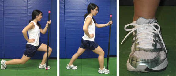 ACL Injury Prevention: Calf stretch