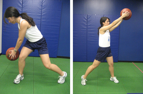 ACL Injury Prevention: Core Strength - Chops and lifts