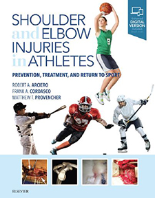 Shoulder and Elbow Injuries to Athletes book cover