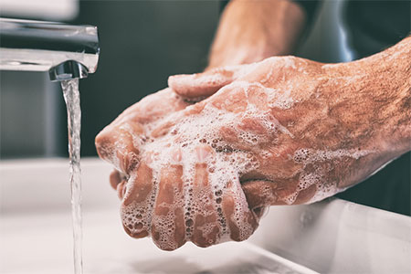 hand washing photo