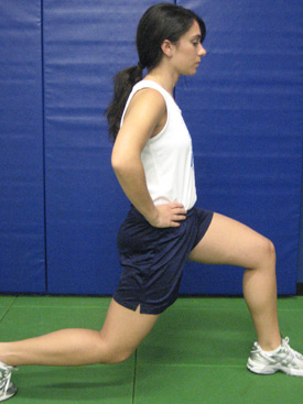 ACL Injury Prevention: Hip Flexors: 1/2 Keel