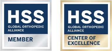 HSS Global Member and Center of Excellence badges