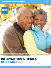Image of the HSS Inflammatory Arthritis Resource Guide.