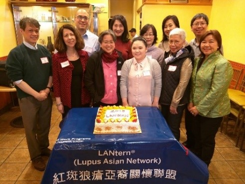 Photo of attendees at the LANtern Lunar New Year luncheon.