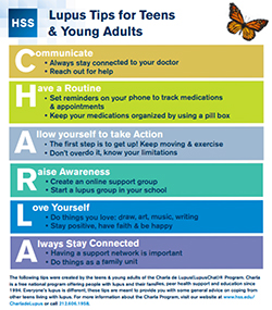 Lupus Tips for Teens and Young Adults cover