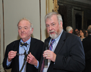 Photo of Dr. David B. Levine and Dr. Patrick V. McMahon