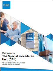 Image: Graphic of SPU patient guide cover