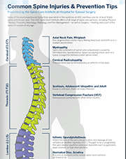 Common Spine Injuries and Prevention Tips