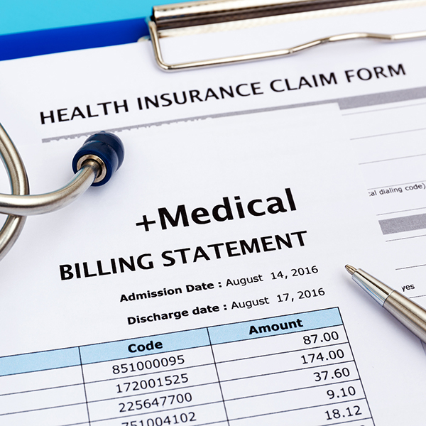 Image - Medical and billing statement