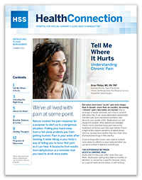 HealthConnection Fall 2017 Newsletter