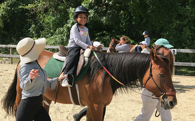 HSS Adaptive Sports Academy at Endeavor Therapeutic Horsemanship in Mount Kisco