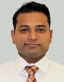 Photo of physical therapist Jeff Varghese