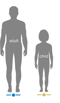 Image of Adult and Child Body