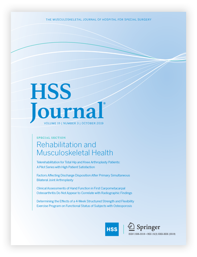 HSS Journal Cover