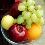 Various fruits in a bowl