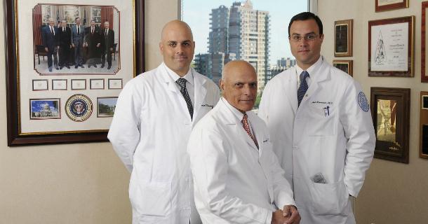 Dr. Amar Ranawat, Dr. Chitranjan Ranawat and Dr. Anil Ranawat