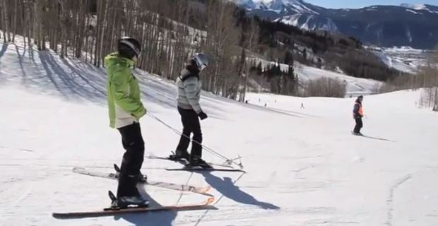 HSS pediatric patients skiing in Colorado