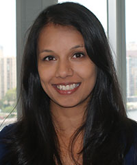 Varsha Seemangal, physical therapist