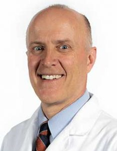 Dr. James Kinderknecht, primary care sports medicine physician