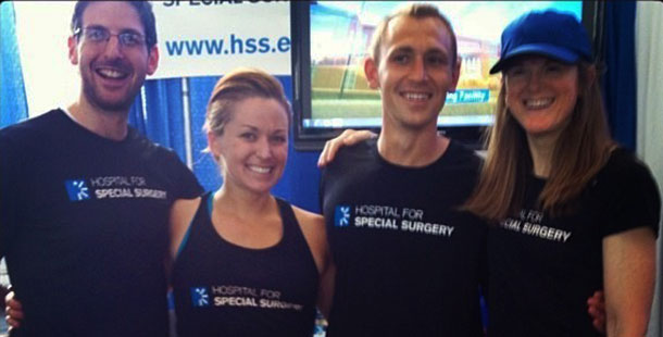 HSS sports performance team