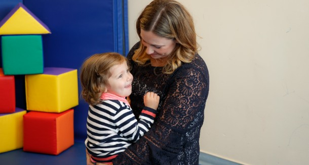 Pediatric Rehab Patient with Liz