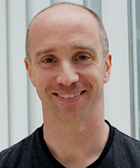 Jon Cinkay, physical therapist