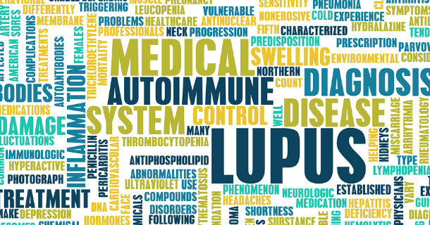 Decorative: Lupus as a Medical Condition in Concept