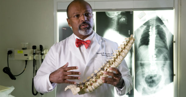 Dr. Bernard Rawlins, spine surgeon