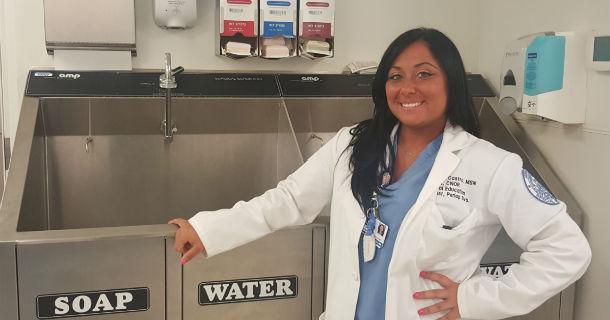 Jennamarie Castro, nurse