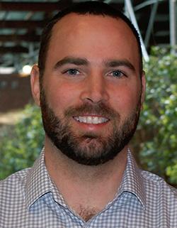 Brad Erler, HSS physical therapist