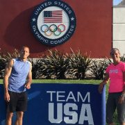 Heather Miller at USOC training camp