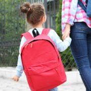 Parent Taking Child to School
