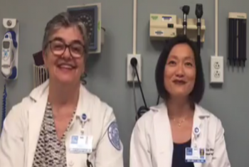 HSS rheumatologists Drs. Susan Goodman and Dee Dee Wu