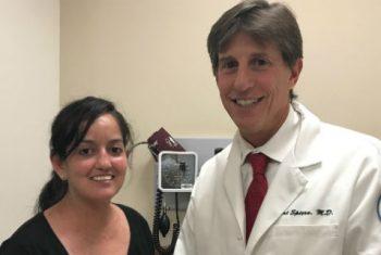 Dr. Robert Spiera & HSS patient Sattyn