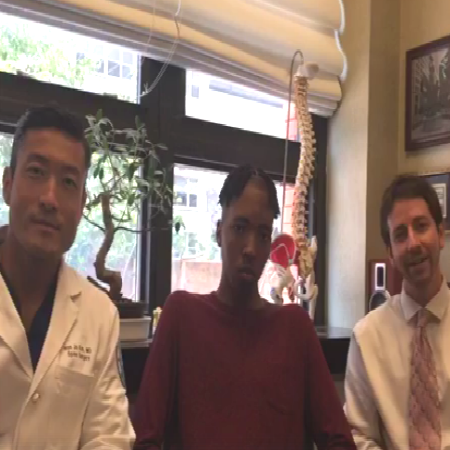 Scoliosis Awareness Facebook live with Dr. Han Jo Kim and HSS patient